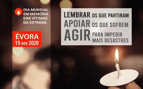 <center>DIA MUNDIAL EM MEMÓRIA DAS VÍTIMAS DAS ESTRADAS 2020</center>