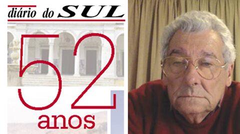 Entrevista ao Presidente da Direção da GARE no Jornal de Aniversário dos 52 anos do Diário do Sul
